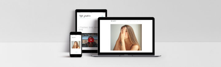 Leyla Josephine – Website and Logo